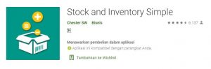 Stock and Inventory Simple
